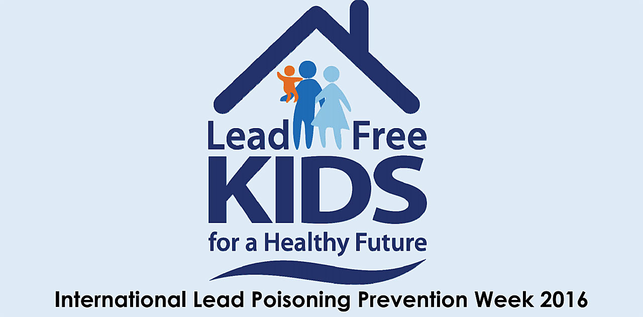 Photo International lead poisoning prevention week